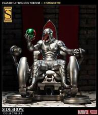 Sideshow Exclusive Ultron on Throne Statue with Vision & Antman head