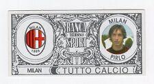 figurina BANCA DELLO SPORT TUTTO CALCIO 2008/2009 MILAN PIRLO
