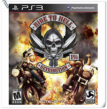 PS3 Ride to Hell: Retribution SONY PlayStation Racing Games Deep Silver