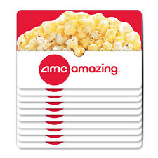 10-Pack of $5 AMC Gift Cards - Mail Delivery