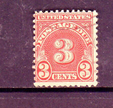 #J82   3  CENT  POSTAGE DUE       FANCY CANCEL   USED     d