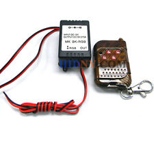 Wireless Remote Control Module For Car LED Bulbs LED Strips W/ Strobe Flash 12V