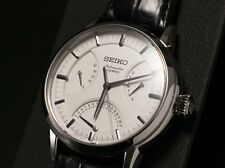 NEW Seiko PRESAGE Mechanical Leater Men's Watch 10Bar SARD009 IMPORT from JAPAN