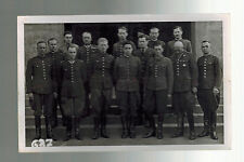 Mint BW Postcard Officers at Prisoners of War POW Camp in Murnau Germany WW 1