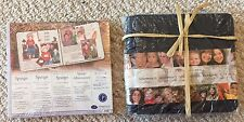 Creative Memories Sentiments Coverset Album Navy 7 x 7 w Pages BNIP Baby Wedding