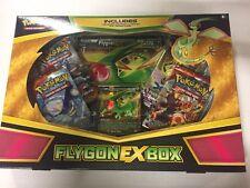 Pokemon Flygon EX Box Gift Set.  Promo, Boosters, And Jumbo CCG TCG