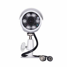 1200TVL HD Outdoor Security CCTV Camera IP66 3.6mm Wide Angle Color Cmos