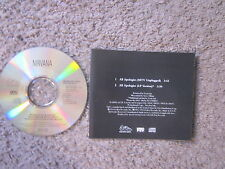 "NIRVANA ""ALL APOLOGIES"" 1994 MTV+LP VERS. UNPLAYED ALT ROCK RADIO PROMO CD RARE!"