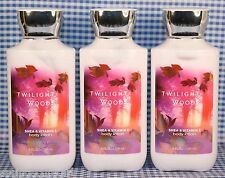 NEW! 3 Bath & Body Works TWILIGHT WOODS Shea & Vitamin E Body Lotion
