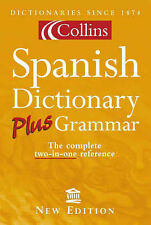 Collins Spanish Dictionary Plus Grammar, By ,in Used but Good condition