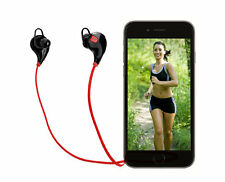 QY7 Wireless Bluetooth4.1 Headset Sport Stereo Headphone Earphone for iPhone Red