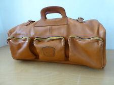 Vintage Ledertasche Weekender Tasche Reisetasche  Leder - 62 cm
