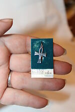 VINTAGE STERLING SILVER NEVER USED CHARM ON CARD CELTIC CROSS