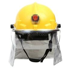 Fire Fighting Helmet Safety Fire Helmet With Amice Firefighting Fire Proof J1F1