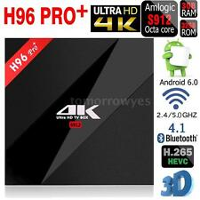 H96 Pro+ 4K HD Smart TV Box 64bit Octa Core 3G 32G Android 6.0 WiFi 1000LAN F6C9