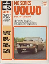 VOLVO 142 144 & 145 ( 1.8 & 2.0 L INJECTION ) 1970 - 1972 WORKSHOP MANUAL VGC