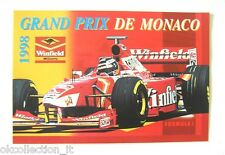 ADESIVO AUTO F1 /Old Sticker GRAN PRIX MONACO 1998 WINFIELD WILLIAMS (cm 15x10)