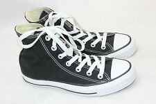 All Star Chuck Taylor Converse Lace Up High Top Women 6.5 / Mens 4.5 Black