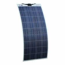 150W Semi-flexible Solar Panel for Campervan, Motorhome, Caravan, Boat Adhesive