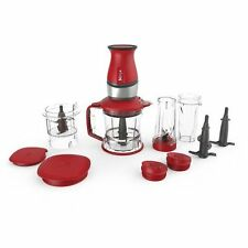 Nutri Ninja 700-Watt 2 in 1 Blender Food Processor QB3000QR Red NEW IN SEALED BX