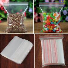 """100 4""""x6"""" ZIP LOCK Bags 3MIL Clear Plastic BAG RESEALABLE Plastic Small Baggies"""