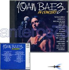 "JOAN BAEZ ""IN CONCERT"" RARE CD MADE IN ITALY 1988 - MINT"