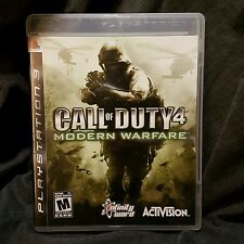 Call of Duty 4: Modern Warfare (PlayStation 3) PS3 Complete