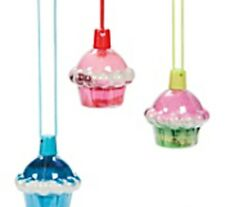 Cupcake Necklace Sand Art Bottle (MAKES 6)