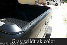 GRAY WILDTRAK BACK REAR TAILGATE COVER FOR FORD RANGER T6 12 13 14 XL PX XLT 15