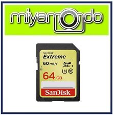 SanDisk Extreme 64GB SDHC Memory Card