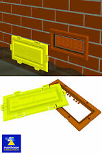 Airbrick Air Brick  Flood Water Defence Protection Cover and Terracotta frame