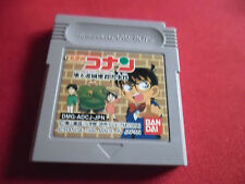 "DETECTIVE CONAN GAME BOY ""LOOSE"" japan game"