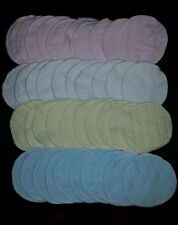 10 piece Reusable Washable  Breast Feeding soft baby NURSING PADS absorbent NEW