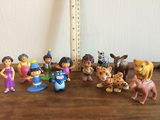 Dora the Explorer Diego Figures Cake Toppers