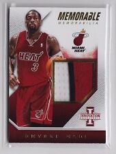 2013-14 Innovation Dwyane Wade Memorable 3 Color Patch (03/25) - Jersey #