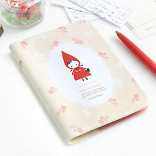 Cute Pink Passport Holder Cover Case Travel  Wallet - Shinzikatoh Tiny Red Hood
