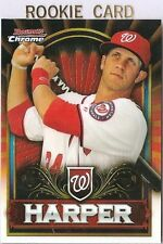 BRYCE HARPER RC SP ***RED REFRACTOR*** 2011 Bowman Chrome Retail #BCE1