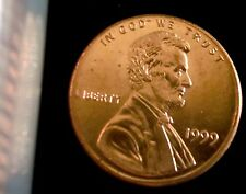 1999-P Philadelphia Mint Lincoln Memorial Penny BU
