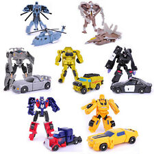 Transforming Robots 1set7pcs Bumblebee Optimus Prime Toys Vehicle Storm Guard UK
