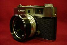 VINTAGE KONICA 35 MM CAMERA WITH CASE ......................... JAPAN