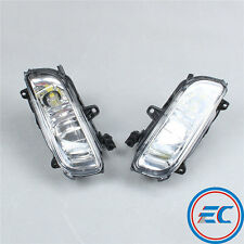 Pair of Front Bumper Square Fog LED Light Lamp For AUDI A8 A8 Quattro D3 New