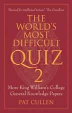 The World's Most Difficult Quiz 2: More King William's College General-ExLibrary