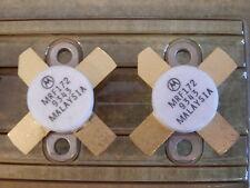 2 Stück, 2 pieces, MRF172 Power RF Transistor HF TransistorMotorola NEU