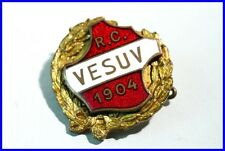 ANSTECKNADEL RAUCHERCLUB VESUV /PIN/ Wappen/ GOLD/ BERLIN /GERMANY