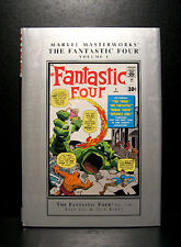 COMICS: Marvel Masterworks: Fantastic Four #1-10 hardcover - RARE (figure)