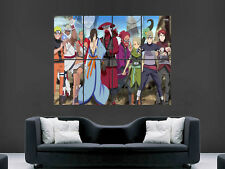 NARUTO SHIPPUDEN MANGA  GIANT WALL POSTER ART PICTURE PRINT LARGE HUGE