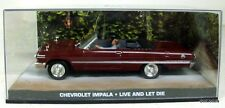 007 JAMES BOND 1/43 - CHEVROLET IMPALA LIVE AND LET DIE - DIE-CAST MODEL CAR