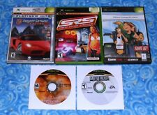 Microsoft Xbox Lot of 5 Games with Project Gotham Racing 2 Tested Excellent