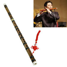 1PC New Chinese Traditional Musical Instrument Handmade Bamboo Flute in D Key