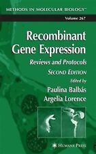 Recombinant Gene Expression: Reviews and Protocols (Methods in Molecul-ExLibrary